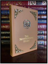The Neverending Story New Illustrated Hand Leather Bound Gift Deluxe Hardcover
