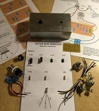 Rangemaster Germanium Treble Booster - Guitar Gear Workshop DIY Kit