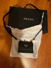 Prada Card Case On Necklace/Belt