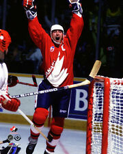 Wayne Gretzky CANADA CUP CELEBRATION 1987 Team Canada Premium POSTER Print