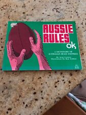 Aussie Rules OK - A Dictionary Of Australian Rules Football by Sean Conway Book