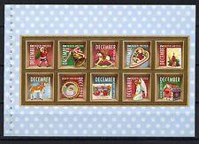 2010 Vel uit prestigeboekje 32 2778-2787 Kerst- / decemberzegels