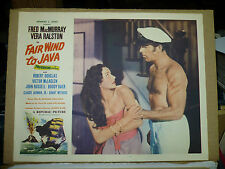 FAIR WIND TO JAVA, orig 1958 LC #6 (Fred MacMurray, Vera Ralston)