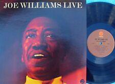 Joe Williams live ORIG US LP EX 73 SFantasy F9441 Vocal Jazz Cannonball Adderley
