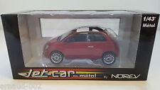Norev Jet-Car - Fiat 500 C Cabriolet rouge (1/43)
