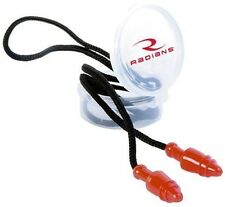 Radians RED Jelli Snug Ear Plugs Hearing Protection Corded NRR28