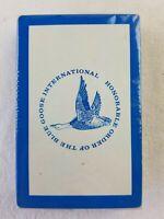 Vintage H. Order of the Blue Goose International 1 sealed Deck of Playing Cards