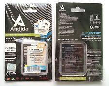 Batteria maggiorata originale ANDIDA 1500mAh x Nokia E5