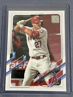 Mike Trout 2021 Topps Series 1 Base Card Angels #27 MVP