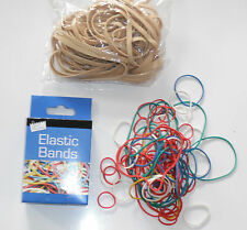 Quality Large,Strong Rubber Bands Elastic Bands Assorted Sizes 50 pk + 110 Band