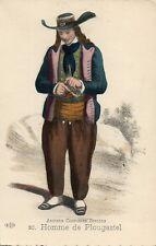 20 Homme de Plougastel Anciens Costumes Bretons French France Folklore Fashion