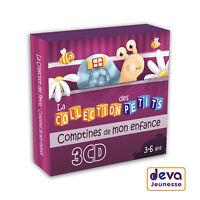 Comptines de mon enfance - Coffret 3 CD