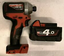 Milwaukee M18 CBLID 18V Li-Ion Brushless Impact Driver with 4.0Ah Battery