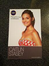 Neighbours Fan Card - Caitlin Stasey RARE 2008