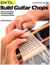 Guitar Sheet Music Method Book ~ Chad Johnson ~ Picking Techniques, Licks, More!