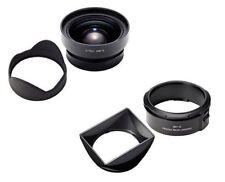 RICOH GW-3 Wide Angle Conversion Lens 21mm bundles Hood / Adapter GH-3