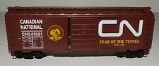 one 40' box car, CN, Year of the Tunnel, 1891-1991. rare limited edition LOT 133