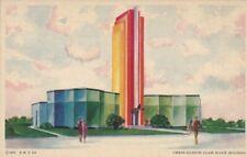 Postcard ©1933 A Century of Progress Owens Illinois Glass Block Building