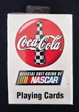💥 🔥 Vtg 1999 Coca Cola Coke Nascar new Sealed Playing Cards ~ Bicycle no. 555