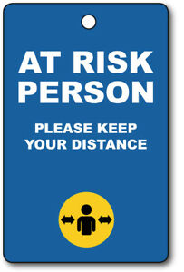 Exemption Cards and Lanyards - At Risk Person