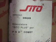 Marmitta SITO 543 PGO Comet P.G.O. exhaust system