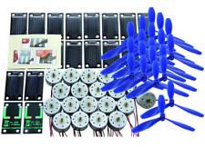 Lot de 20 cellules solaires SM80L + 20 moteurs RF-300 + 20 hélices