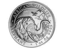 100 Shilling Elefant WMF Berlin Brandenburger Tor Somalia 1 oz Silber 2018