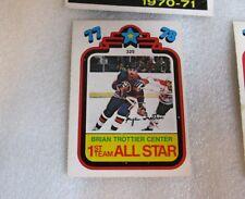 1978-79 Bryan Trottier Center 1st Team All-Star OPC Hockey Card! PUZZLE PIECE