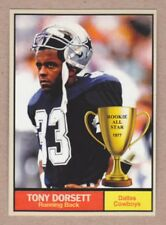 Tony Dorsett '77 Dallas Cowboys Monarch Corona Rookie All Star #9