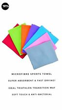 Personalised Microfibre Sports Towel (makes ideal triathlon transition mat!)