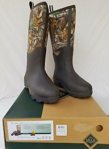 New Men's Muck Woody Max Tall Hunting Boot WDM RTE Brown & Realtree Edge Camo