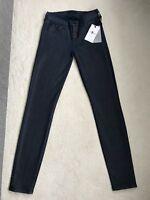NEW Women's 7 For All Mankind The Skinny Stretch Jeans Size W24,Blue Iris(1298