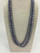 Pearl Bead Wrap Around Necklace