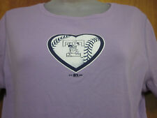 TOLEDO MUD HENS baseball women's lrg T shirt Ohio minors sexy tee Detroit Tigers