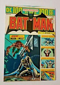 DC COMICS BATMAN (1940) # 255 APRIL 1974 NM OW PAGES 100 PAGE SUPER SPETACULAR