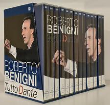 Roberto Benigni - Tutto Dante - 14 DVD Spettacolo Televisivo La Divina Commedia