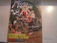 **e Moto revue n°2248 340 MX Rokon automatique / 125 Yamaha RDX