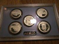 2010 Proof Quarters National Park America the Beautiful U.S. Mint No Box/COA