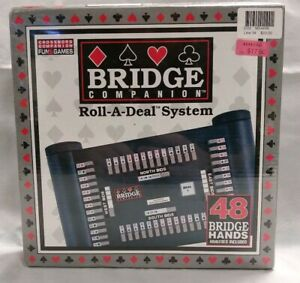 Bridge Companion Roll-A-Deal System  Herbko New Sealed 48 Hands Analyses