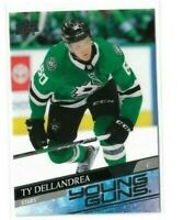 2020-21 UPPER DECK #213 TY DELLANDREA YG RC UD YOUNG GUNS ROOKIE STARS