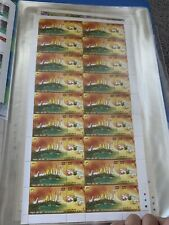 India Mint Stamps Panchtantra Set Of 4 Sheets MNH