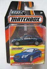 `06 Bentley Continental GTE  Blue 2006  *** Matchbox  Best of 1:64 OVP