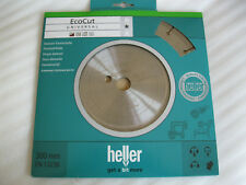 HELLER Disco de corte de diamante ECOCUT 300 x 25,4 Universal