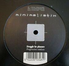 "MINIMALISTIX ~ Struggle For Pleasure (Progressive Remixes) ~ 12"" Single"