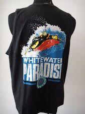 VINTAGE 1980's HOBIE WHITEWATER PARADISE CANOE SURF SHIRT SIGLET SURFBOARD