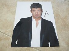 Robin Thicke Sexy Signed Autographed 11x14 Photo PSA Guaranteed
