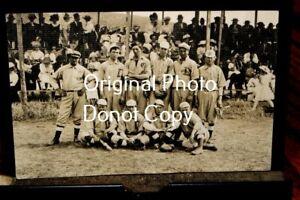 #D2488,Real Photo Postcard Circa 1910 Baseball Team w Large D Uniform