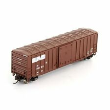 Brown N Scale Model Train Carriages