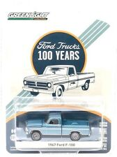 2017 GreenLight FORD TRUCKS 100 YEARS 1967 FORD F-100 pickup utility mint card!