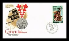 DR JIM STAMPS 50C MONTREAL OLYMPIC GAMES FIRST DAY ISSUE CANADA UNSEALED COVER